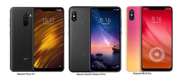 Tspn1 Xiaomi Redmi Note 6 Pro Vs Xiaomi Poco F1 Vs Xiaom Xiaomi Xiaomi Pocophone F1 Global Version 6 18 Inch 6gb 128 Xiaomi Smartphone Smartphones For Sale