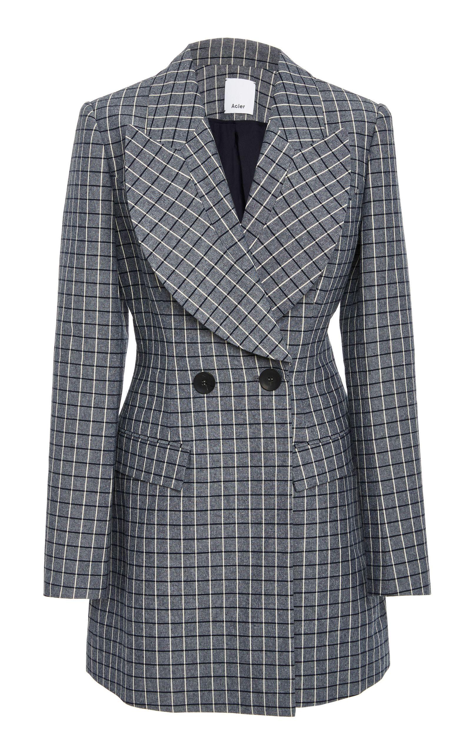 Acler Cunningham double breasted blazer Original Cheap Price 3AdjvSB8