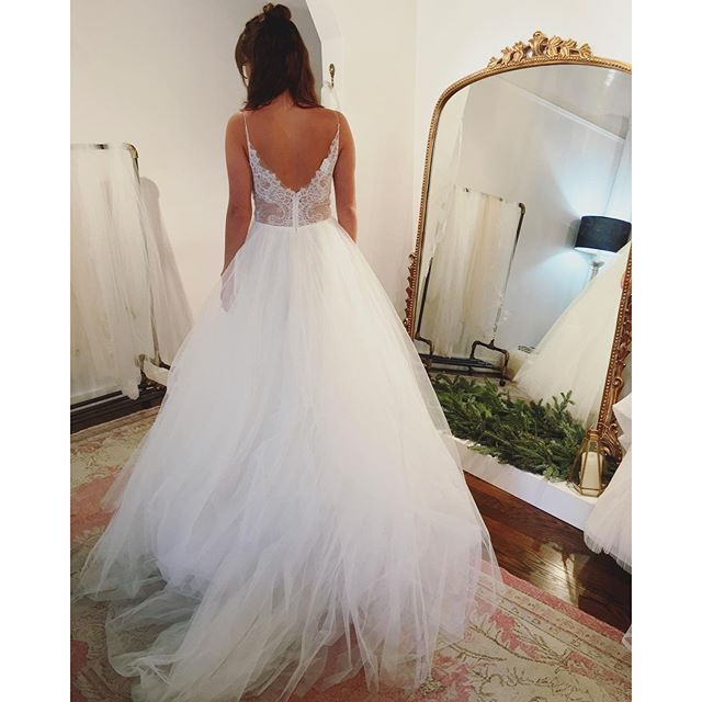 Cute Penny by Christos Bridal available at The Dress Theory thedresstheory