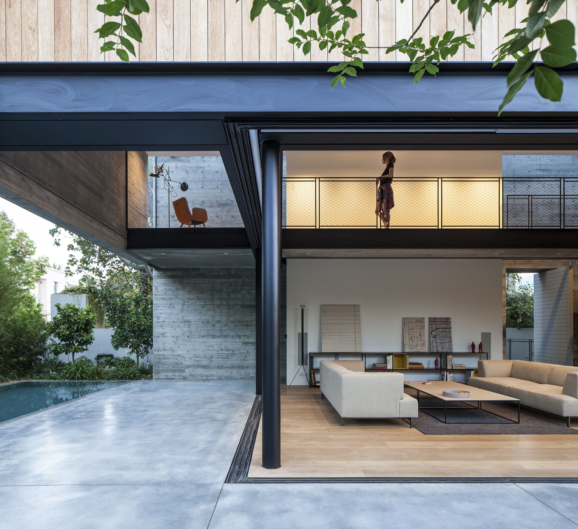SB House / Pitsou Kedem Architects | Außenfassade, Moderne villa und ...