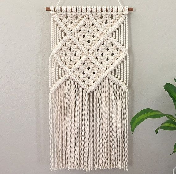 Macrame Wall Hanging / Modern Macrame / Tapestry / Wall Hanging - tapices modernos
