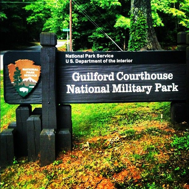 Guilford Courthouse National Military Park in Greensboro, NC ...