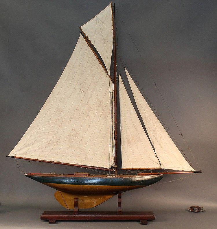Image result for vintage gaff cutter pond yachts