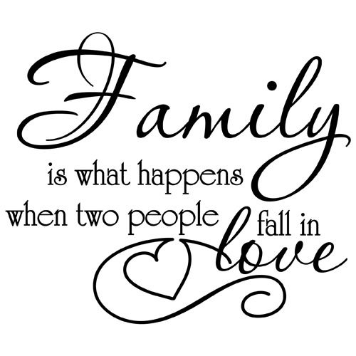 Family Love Quote Vinyl Wall Decal Sticker Art Removable Words Home Decor