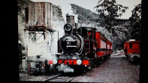 West Coast Wilderness Railway Queenstown Tasmania . Well worth the 4 hour drive from New Norfolk .