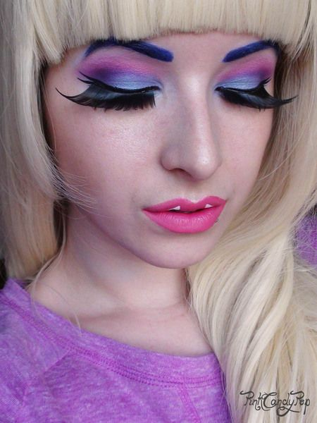 #MonsterHigh - Abbey Bominable Make Up! Adorable!