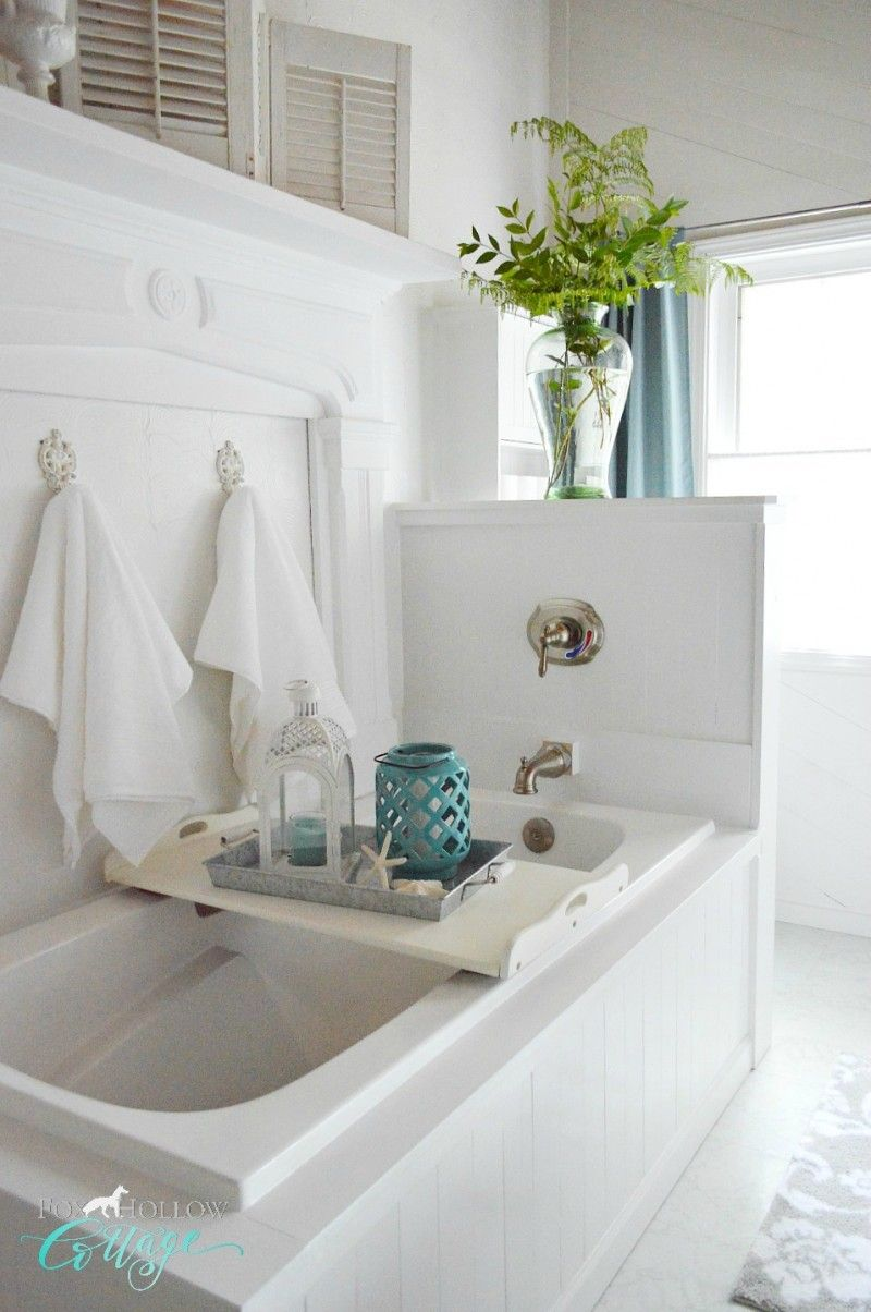 How To Makeover A Bathroom Without Remodeling | Coastal cottage ...