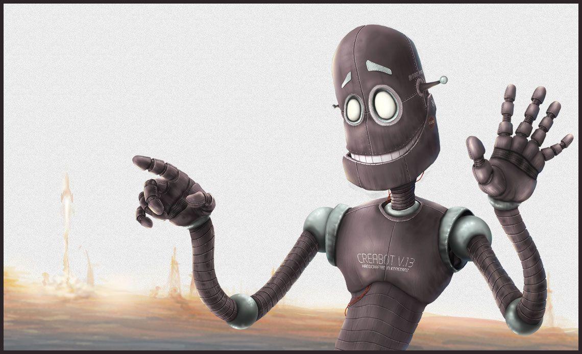 Robot 13 Illustrations