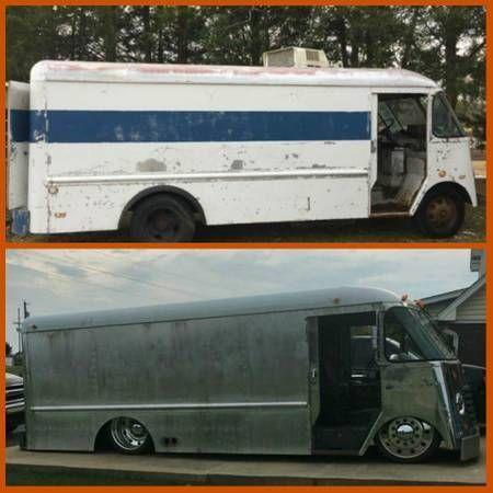 1964 Chevy Grumman Step Van Food Truck Step Van Cool Vans Van