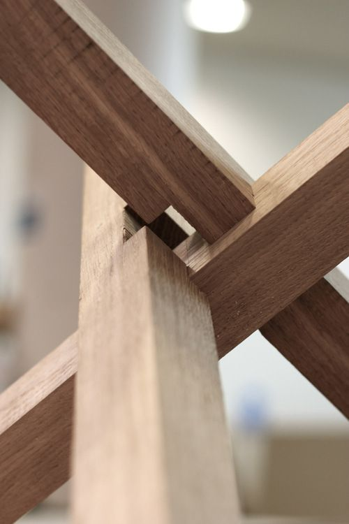 Another sneak peak of a bit of joinery from a coffee for Table joints