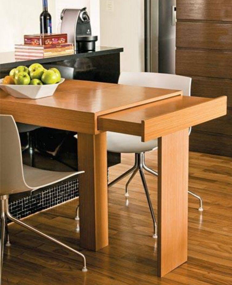 Para pequenos espaços | Kitchen | Pinterest | Mesas, Cocinas y Comedores