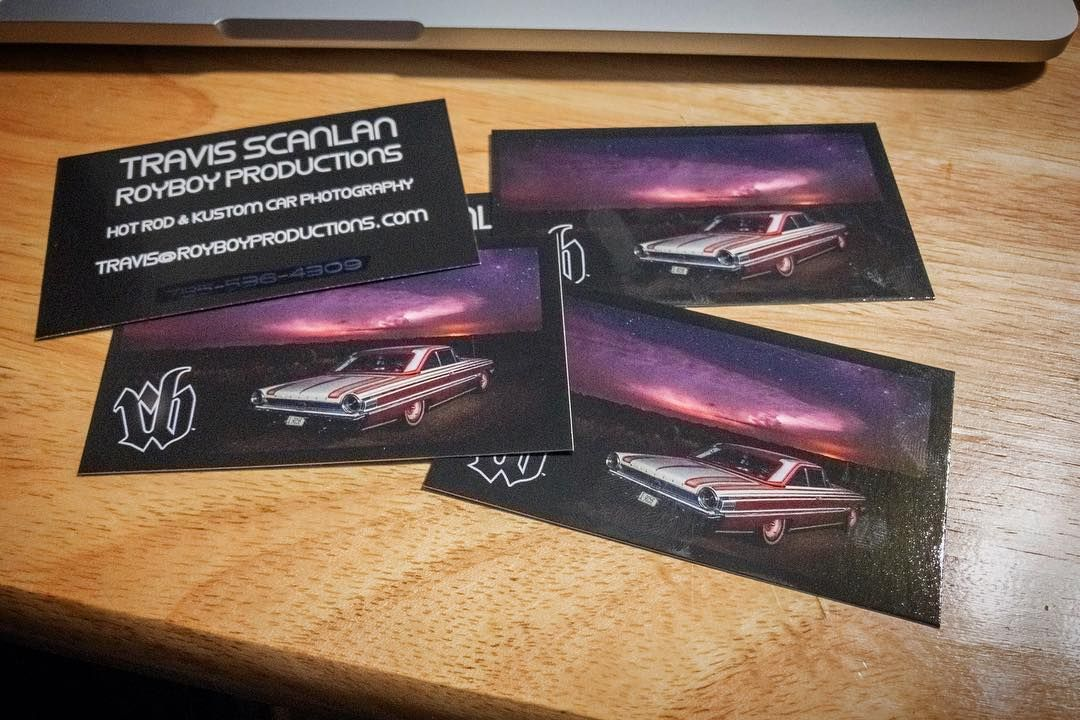 New business cards are here! Now back to work! | Royboyprods on ...