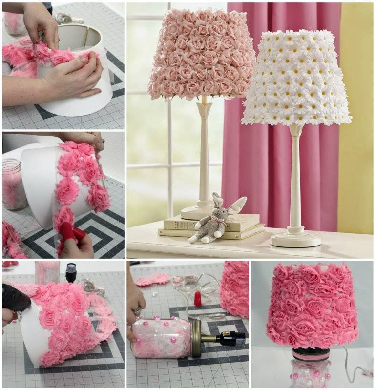 Wonderful DIY Gorgeous Vintage Lamp Vintage Shabby And Craft - Diy cloud like yarn lampshade