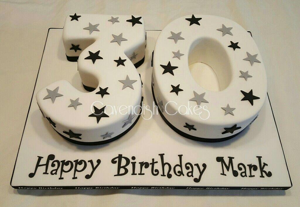30th Birthday number cake 30thbirthday cavendishcakes Cavendish