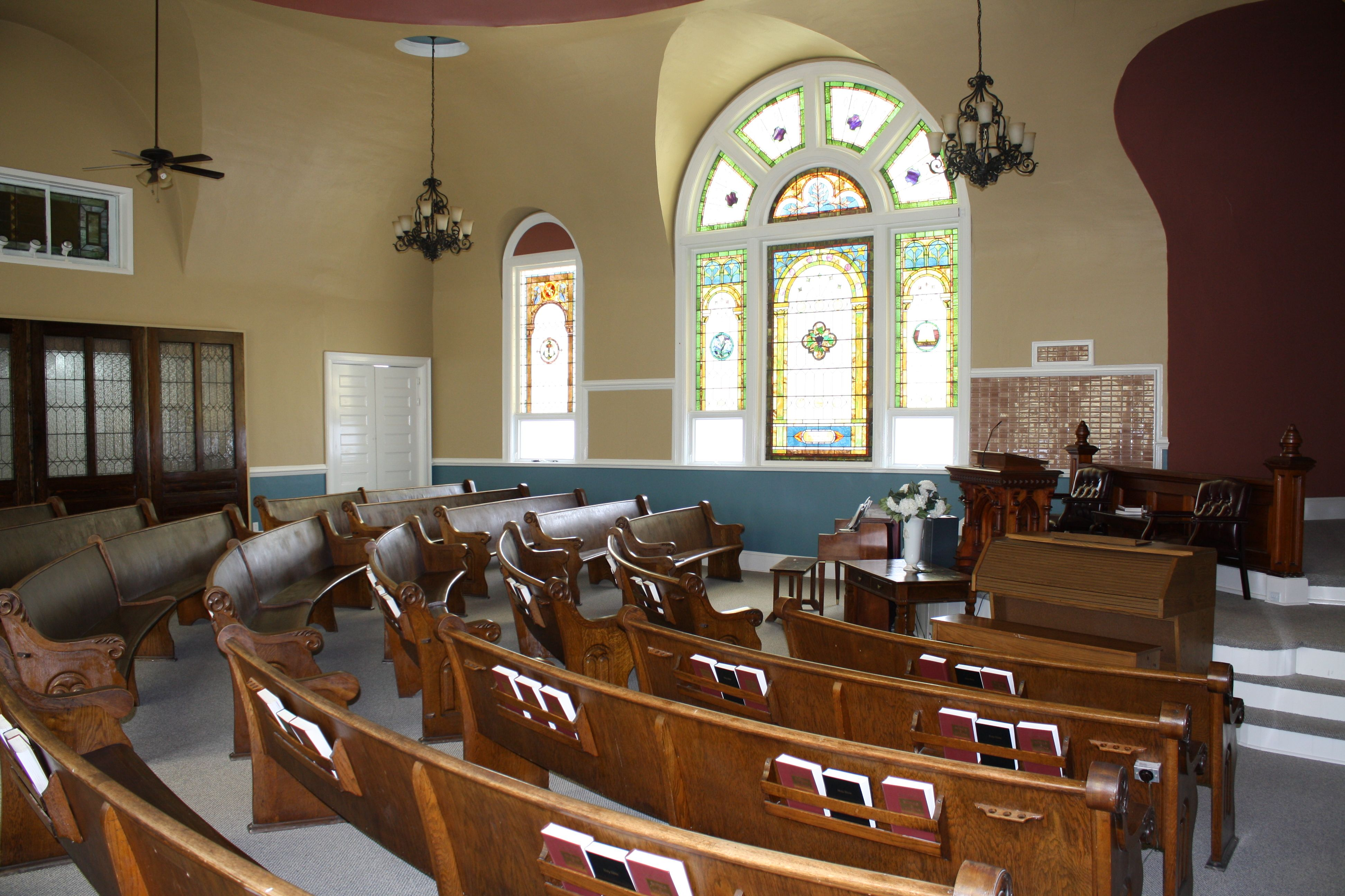 First baptist church of black riverny near fort drum and