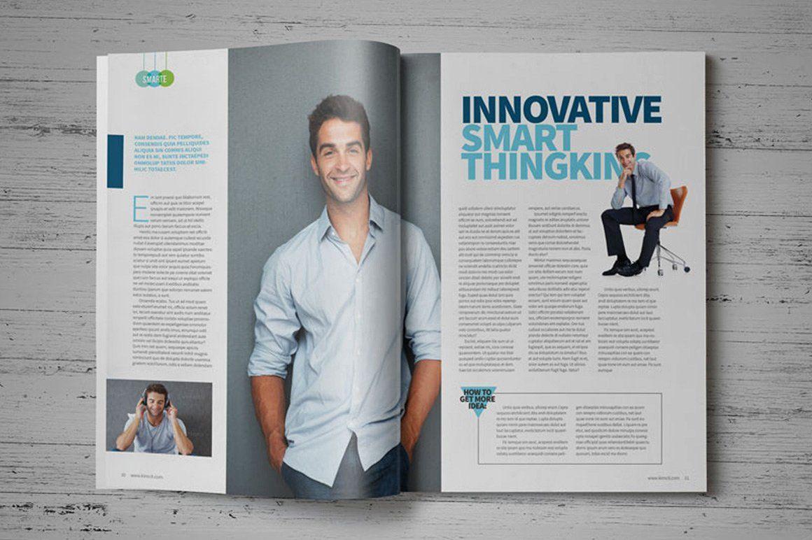 InDesign Magazine Template | Magazine Templates on Creative Store ...