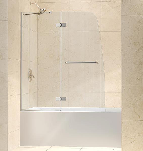 Glass Bathtub Doors Frameless Tub Door By Dreamline Clear Glass