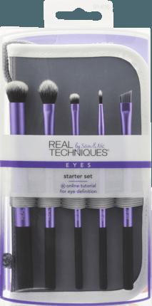 Real Techniques Starter Set 1 St Dauerhaft Gunstig Online Kaufen Dm De Make Up Pinsel Set Make Up Augen Real Techniques