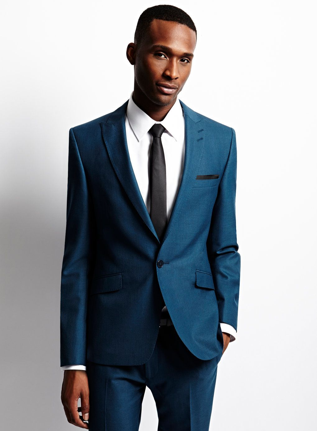 blue suit slim fit - Google Search | For the Groom | Pinterest