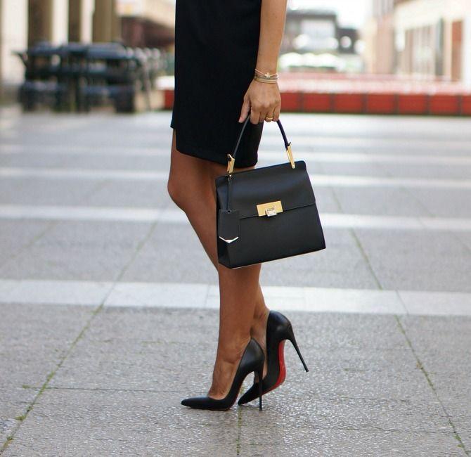 Estefan a garc a del blog con 2 tacones con bolso de balenciaga y zapatos so kate de christian - Con 2 tacones ...