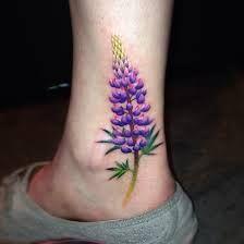 Bluebonnet Watercolor Tattoo Google Search Tattoos Flower