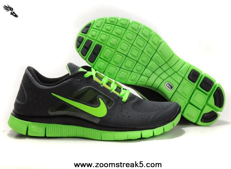 taille 40 dea74 0e555 Mens Sequoia Electric Green 510642-330 Nike Free Run 3 ...