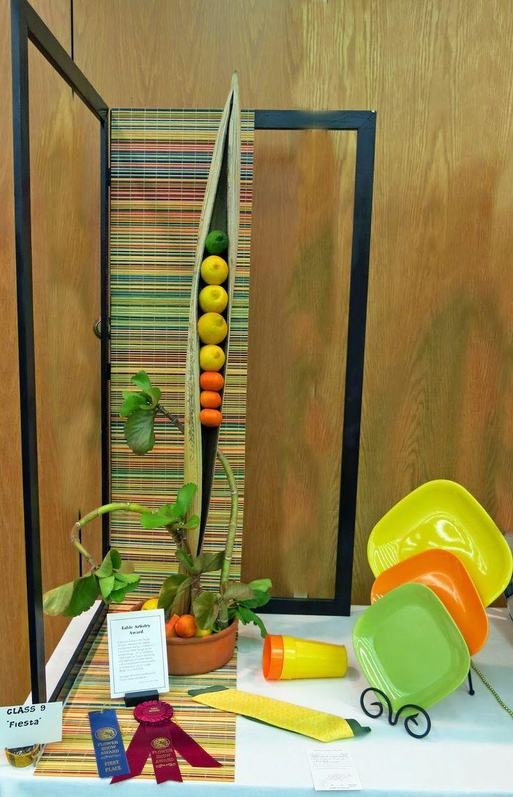 blue ribbon flower show exhibition table 1 - Google Search ... on standard flower show table designs, garden club underwater designs, winning garden club flower designs,