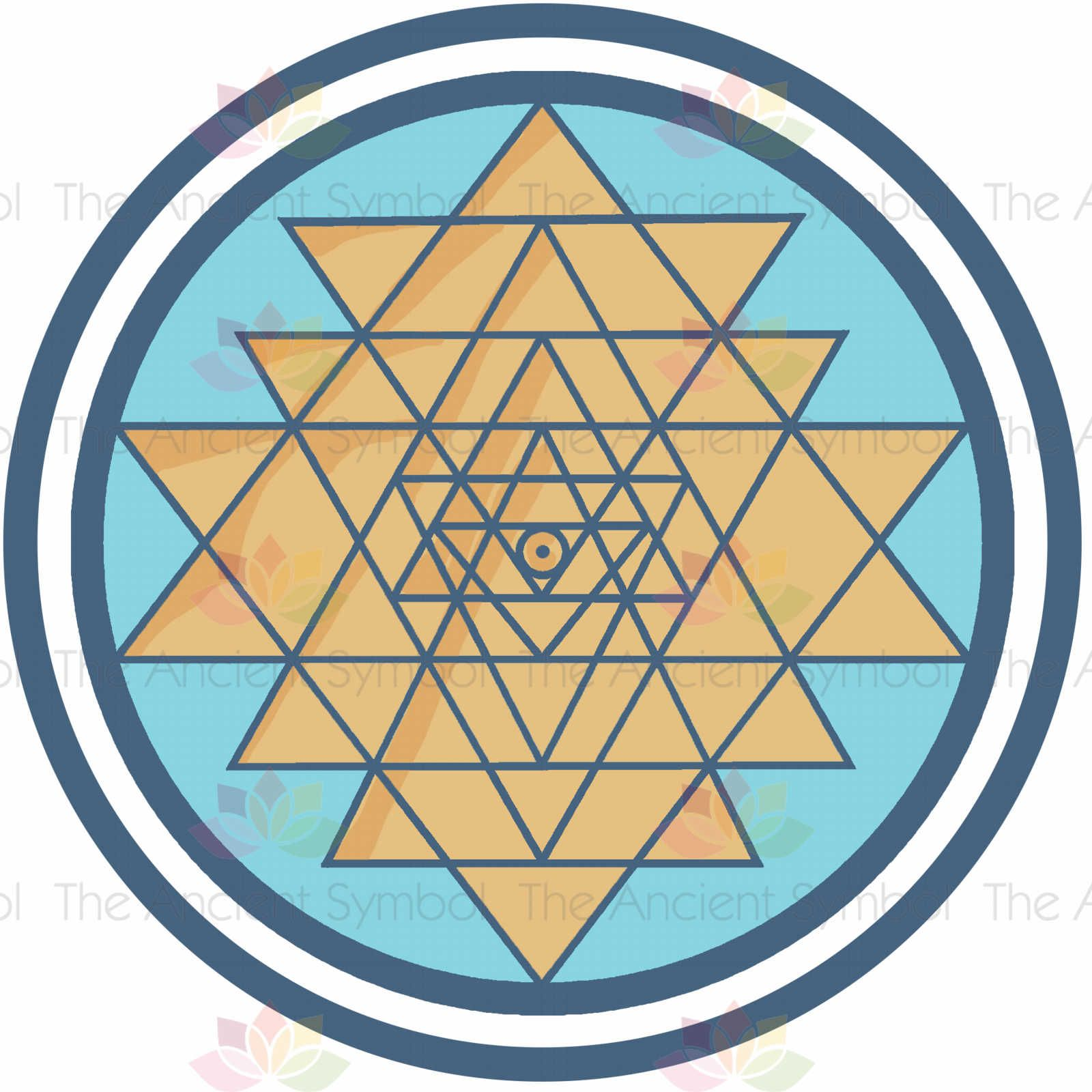 10c7489b0849e0ac80ebf3b6d9a4e393 the sri yantra or sri chakra is a form of mystical diagram used in