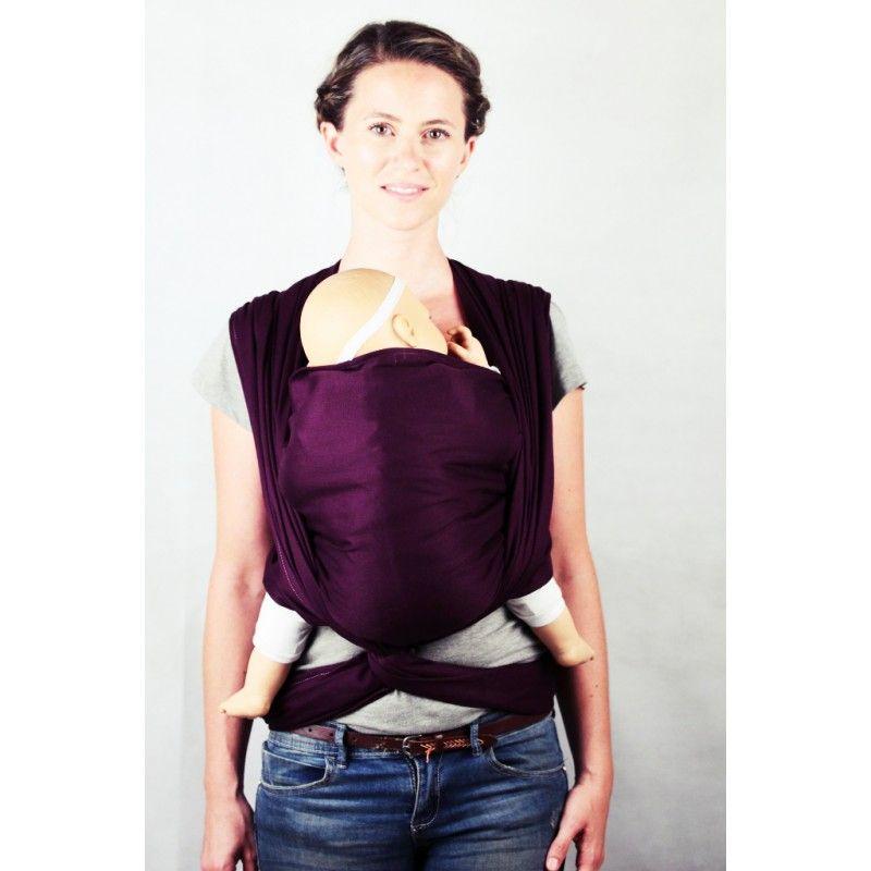 écharpe de portage Daïcaling 4m50 Shadow Purple