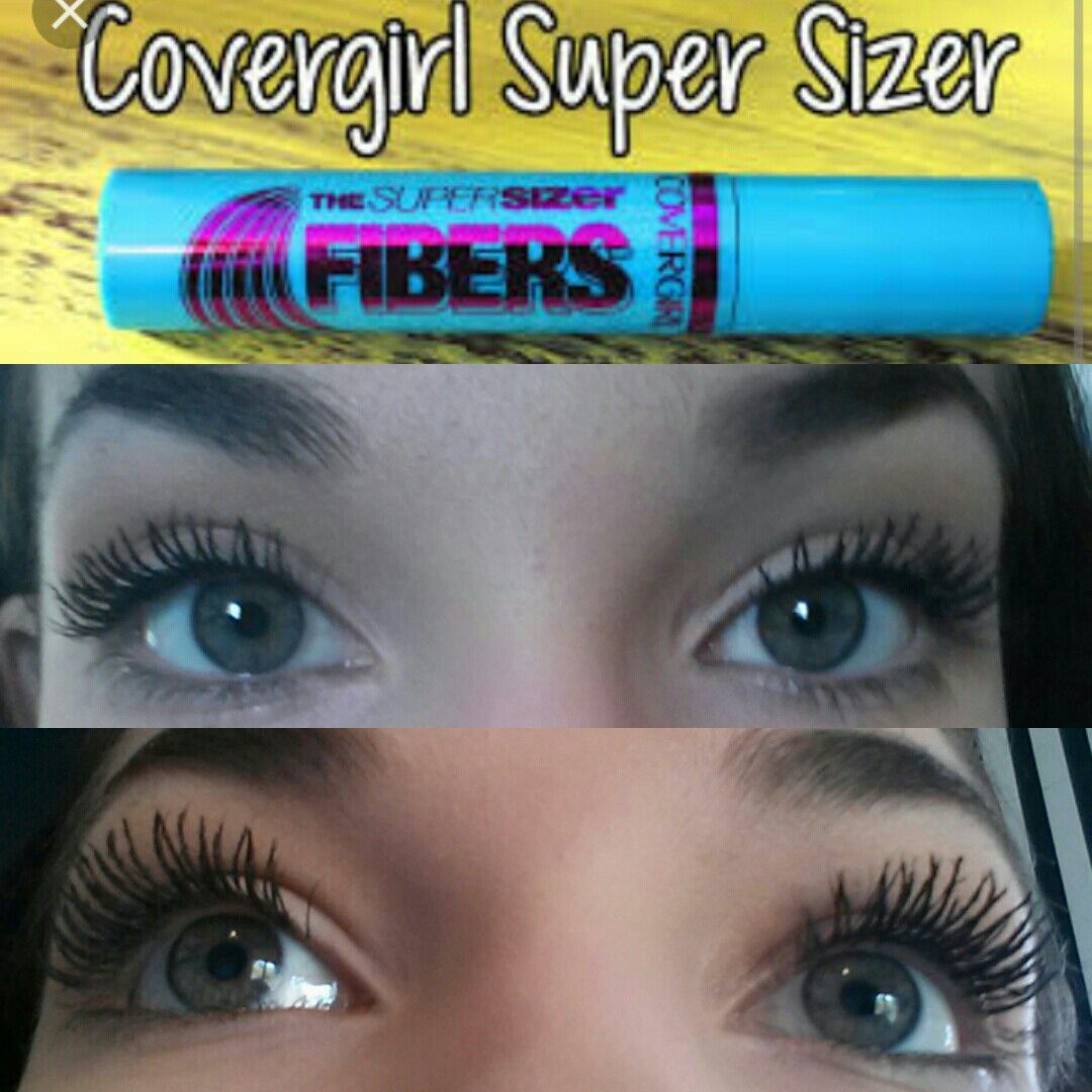 Best mascara from the drugstore! Cover super sizer fibers ...