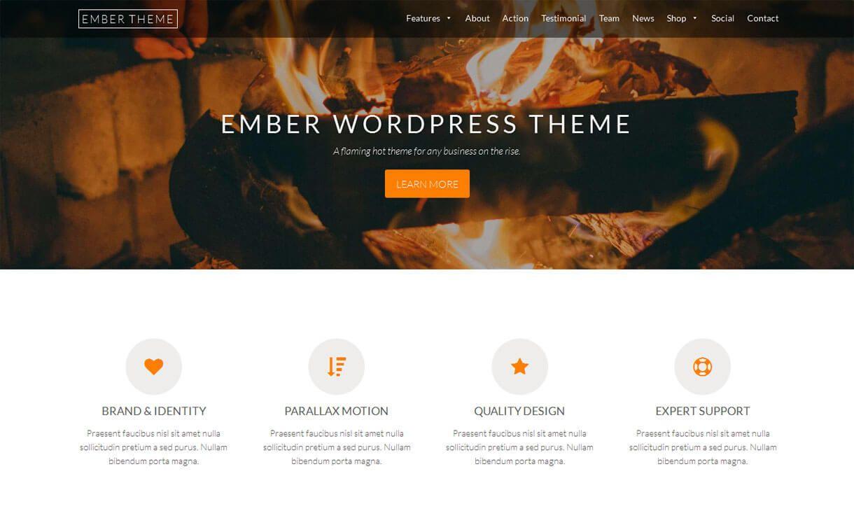 Best Free Responsive Wordpress Themes Business