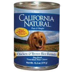 Amazon Com California Natural Chicken Brown Rice Adult Canned