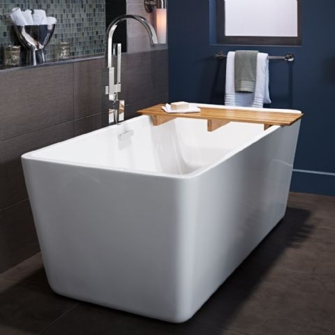 The Deep Soak Design And Simple Style Of The Sedona Freestanding
