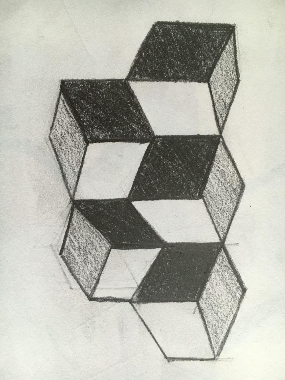 Попытка уравновесит тональную композицию