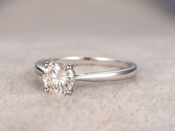 1.0ct Forever Classic Charles & Colvard Moissanite by popRing
