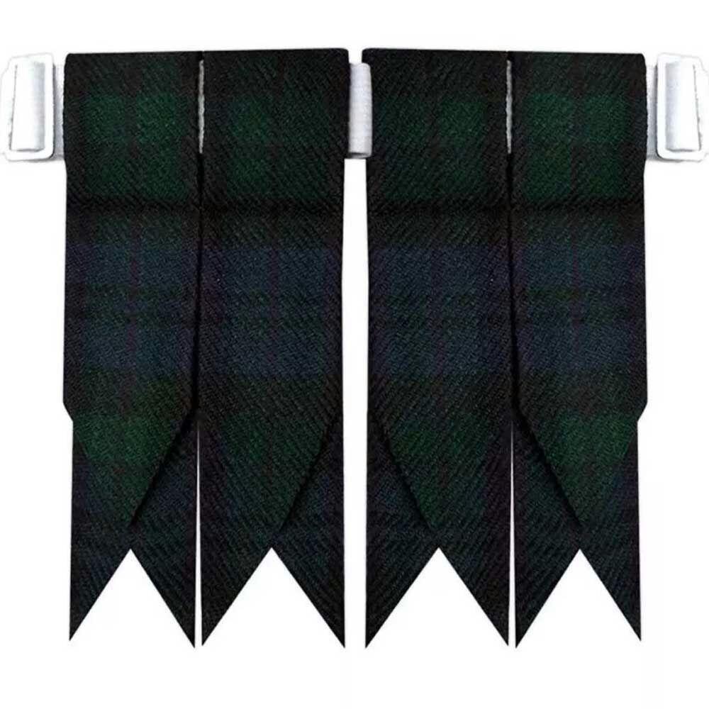 Scottish Kilt Hose Socks Flashes Pride of Scotland Garter Pointed//Highland Ware