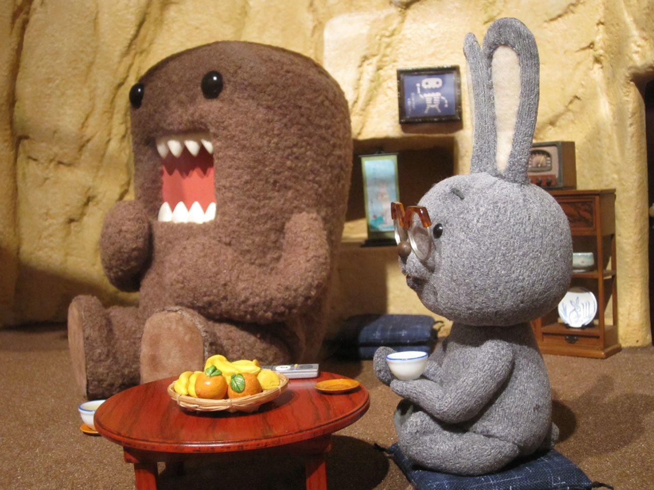 どーもくん 僕の唐揚げサンドを食べなよ どーもくん コマ撮り かわいい