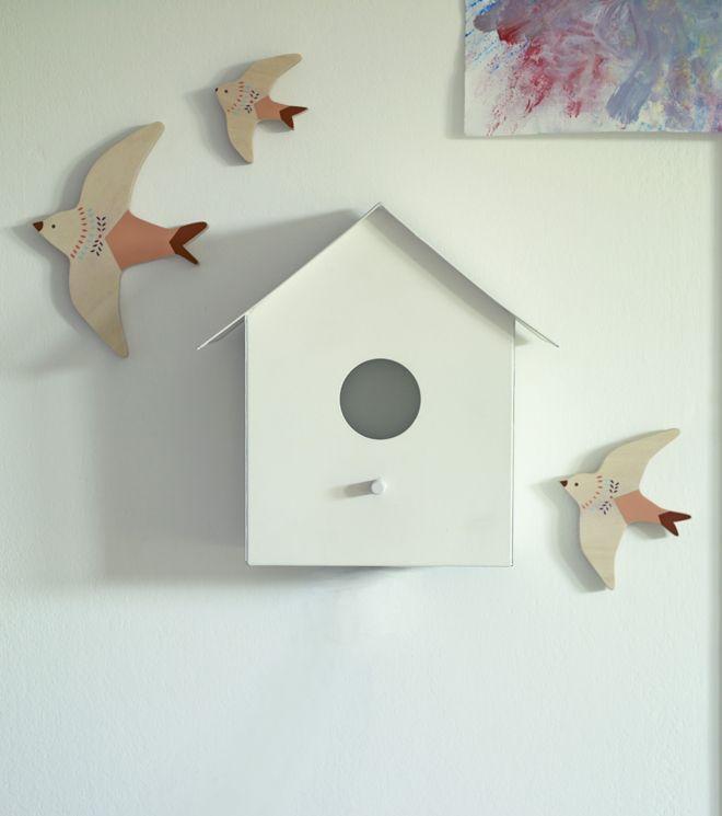 Hallie Bird House Wall Light By Rowen Wren Kids Room Style File