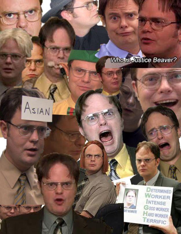 Dwight schrute face google search facial expressions - Michael scott wallpaper ...