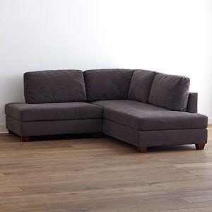 Charcoal Wyatt Sectional Sofa Living Room Furniture