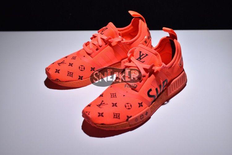 huge discount 77dfe 915d1 Supreme x Louis Vuitton X Adidas NMD R1