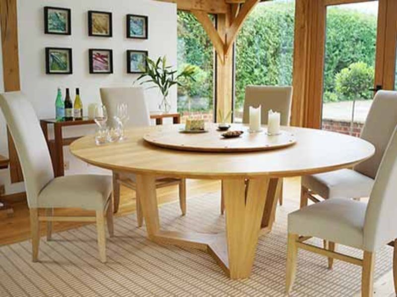 10 Round Dining Tables To Create A Cozy And Modern Decor Large Round Dining Table Circular Dining Table Round Dining Room Table