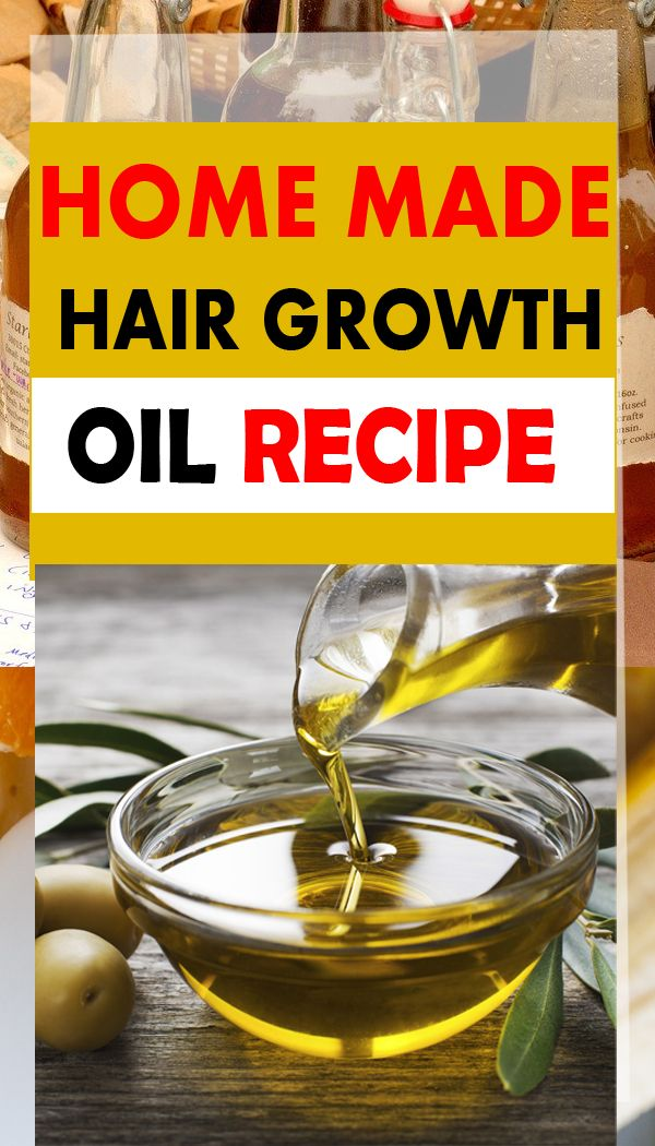 Homemade Hair Oil Recipe For Hair Growth - Easiest   Hair ...