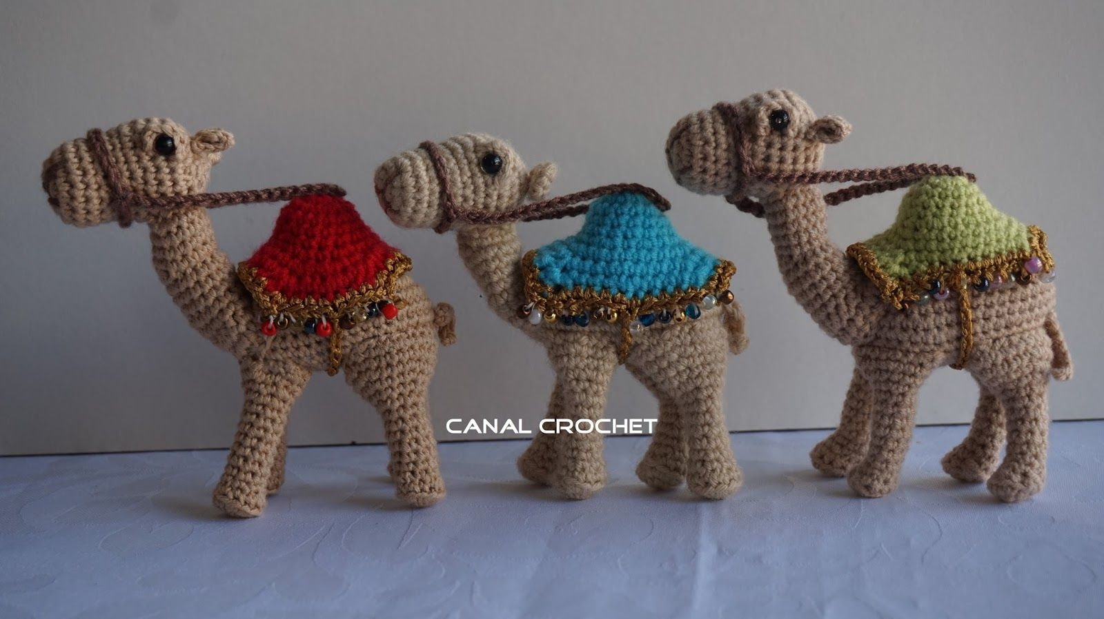Camel pattern, free pattern but needs to be translated CANAL CROCHET ...