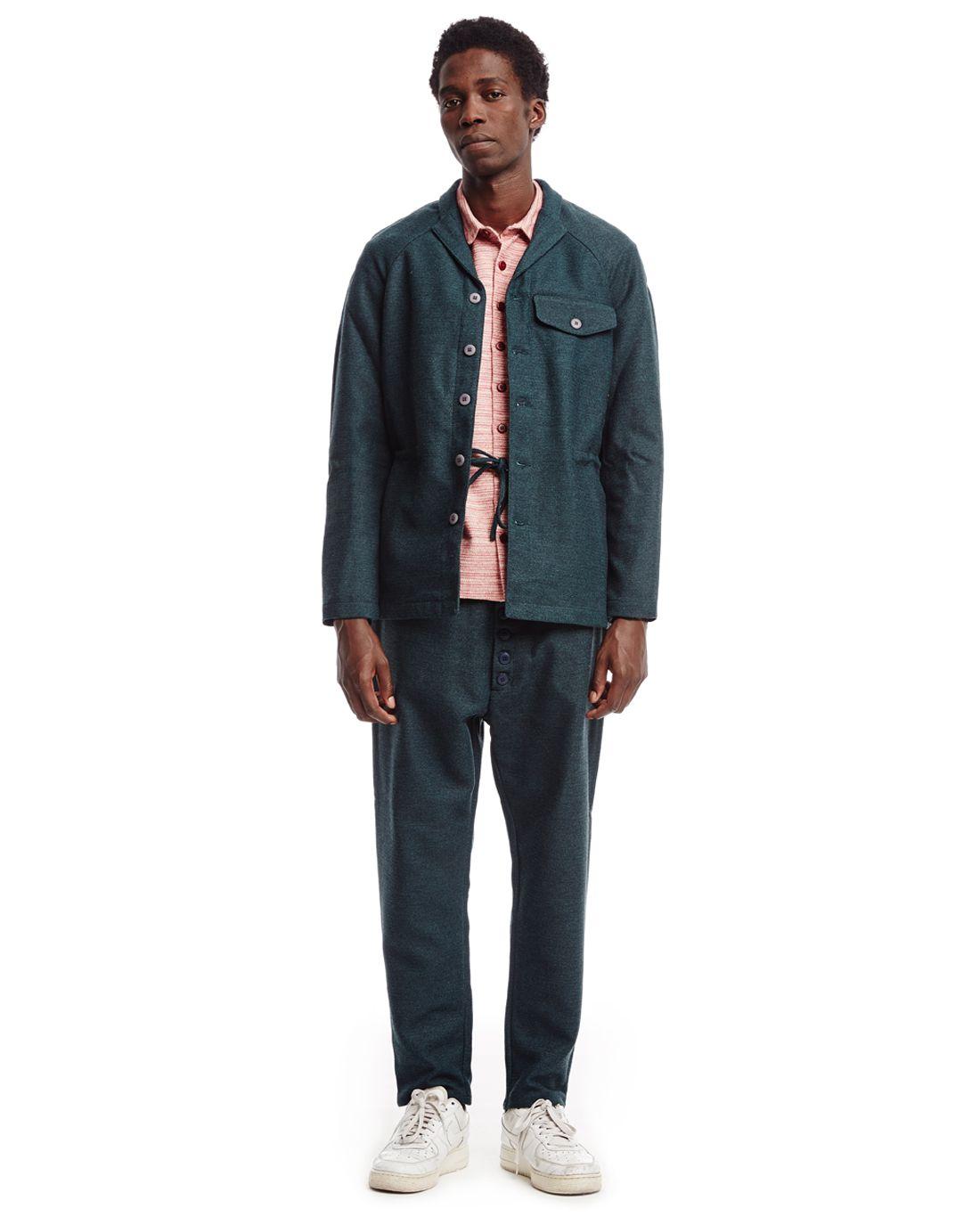 Green wool blazer by SUNNEI FW15 new in #WeAreSelecters Stores ...