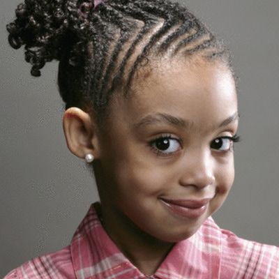 10 Adorable Girls Hairstyles Every Parent Will Love: Fancy Cornrows