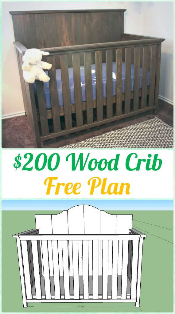 Diy Baby Crib Projects Free Plans Instructions Furniture