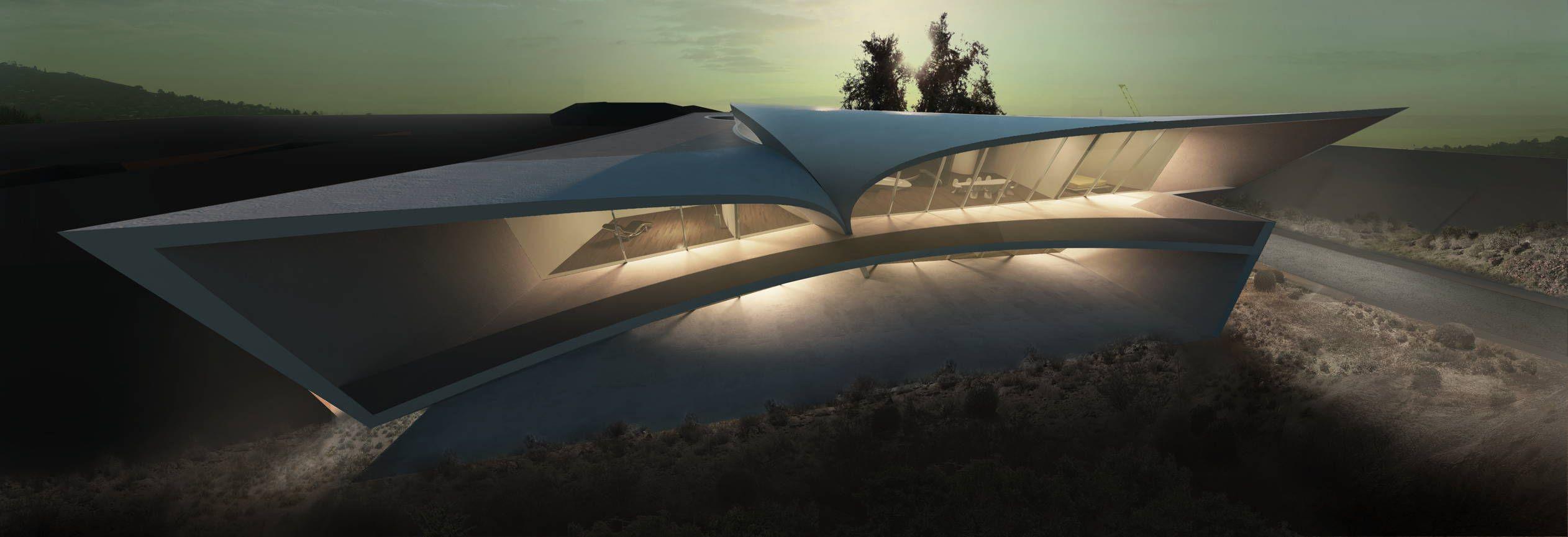 California residence zaha hadid arquitectura for Arquitectura zaha hadid