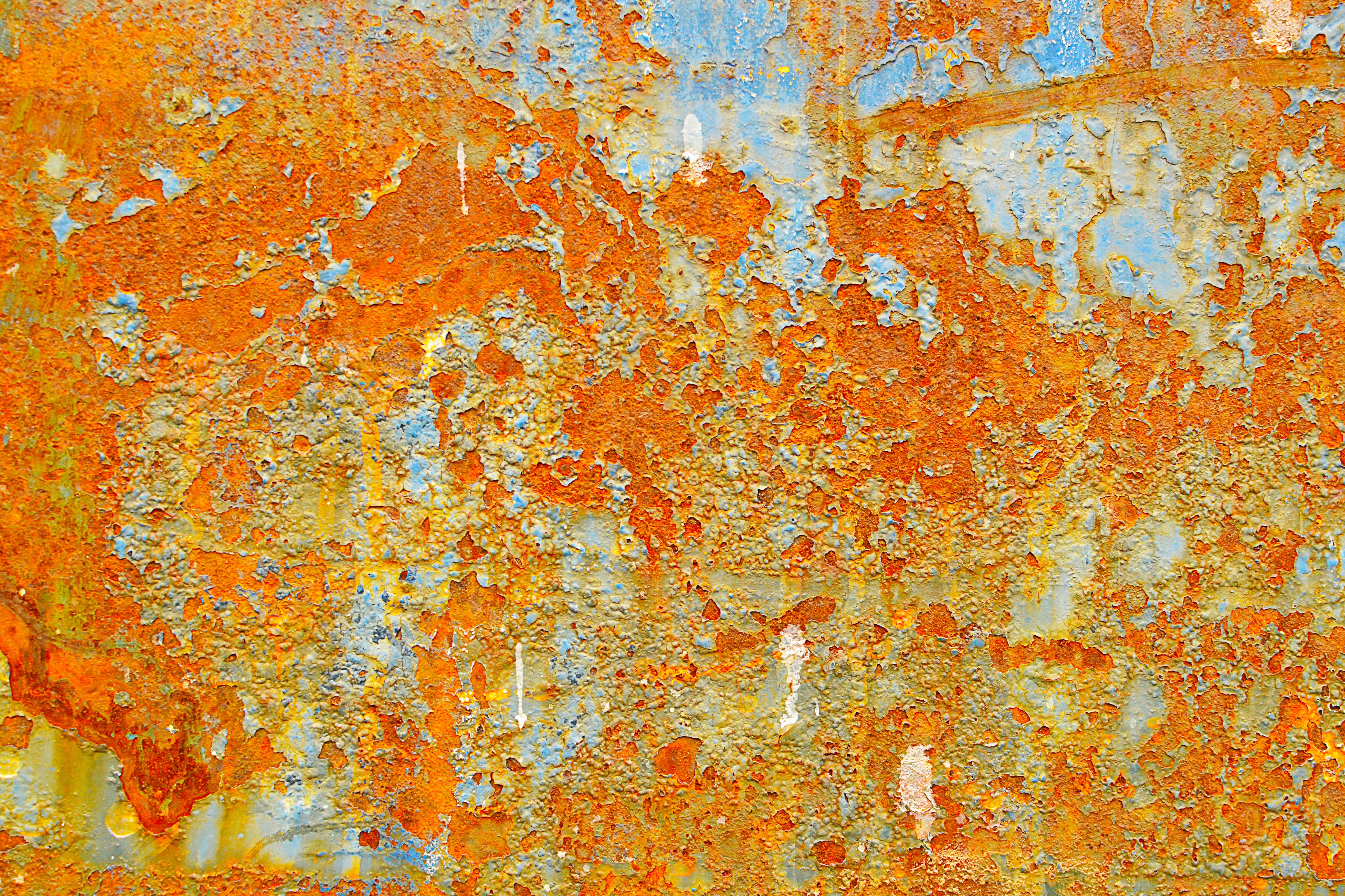rust colored pattern in-#20