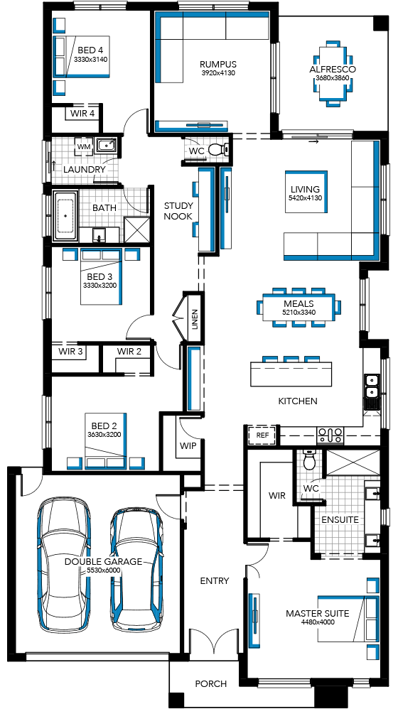 Browse the various new home designs and house plans on offer by carlisle homes across melbourne and victoria find a house plan for your needs and budget